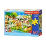 Puzzle Vizita la Zoo, 60 piese
