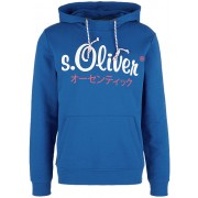 s.Oliver Pulover de bărbați 13.002.41.4959.5538 Blue M