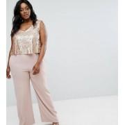 Elvi Комбинезон с пайетками на лифе Elvi Premium - Розовый