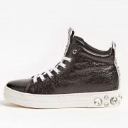 Guess Scarpe Donna Sneakers Alte Colore Nero Linea Remmy