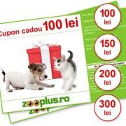 Cupoane cadou zooplus - Valoare: 300 lei