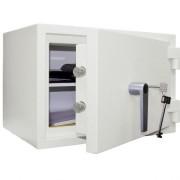 Seif certificat EN 1143-1, 90 kg, Planet Safe Granit 3450 antiefractie, antifoc, cheie, 340 x 500 x 345 mm