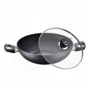 Tigaie Wok aluminiu cu strat marmura Peterhof 30 cm, PH-15410-30