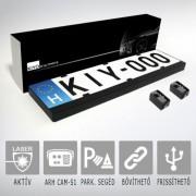 KIYO D Ultimate 2 rendszámtábla keretbe rejtett lézerblokkoló 2 aktív szenzorral