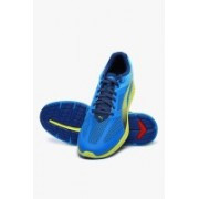 Puma Ignite Mesh Cloisonn�-Poseidon-Sulphur Spring Running Shoes For Men(Blue)