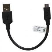 Sony Cavo Dati E Ricarica Originale Ec-300 Microusb Usb Black Bulk Per Modelli A Marchio Nokia