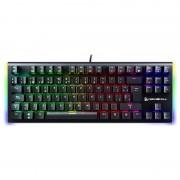 Newskill Serike TKL Teclado Mecânico Gaming Full RGB Switch Brown