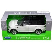 WELLY 1:24 W/B 2015 LAND ROVER RANGE ROVER SPORT WHITE 24059W-WH