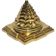 Gifts Decor Meru Shree Yantra - Zinc - for Success Wealth Prosperity