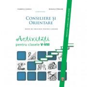 Editura ASCR Consiliere și orientare. activitați pentru clasele v-viii - lemeni gabriela, porumb mihaela (coordonatori) ascre...