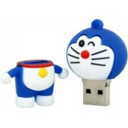 Green Tree Doraemon Fancy USB Flash Drive 64 Pen Drive(Blue)