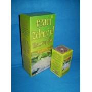 Zelený jíl-pročišťuje střeva a trávicí trakt,detoxikuje,odvádí toxiny a plyny