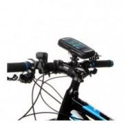 Suport Telefon pentru bicicleta si motocicleta impermeabil universal marimea XL rotatie 360 rezistent la umezeala si ploaie