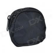 800D telas impermeables Mini Accesorios Al aire libre bolso / equipaje de Wallet - Negro