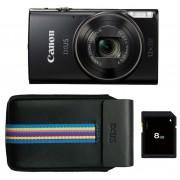 Canon iXUS 285 HS zwart Essential Kit