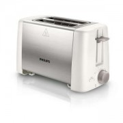 Тостер Philips Daily Collection 2 slot Compact, White beige Reheat, metal HD4825/00