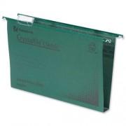CrystalFile Suspension File 30mm F/C Green 50's
