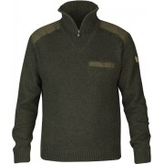 FjallRaven Koster Sweater - Dark Olive - Sweaters en laine M