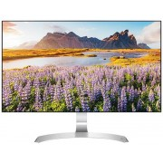 "Monitor IPS LED LG 27"" 27MP89HM-S, Full HD (1920 x 1080), VGA, HDMI, Boxe, 5 ms (Alb/Argintiu)"