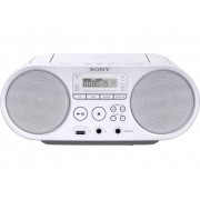 Sony ZS-PS50 FM CD-radio AUX, CD, FM, USB Wit