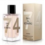 Eau de Iceberg Jasmine Pour Femme 100 ml Spray, Eau de Toilette