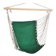 Merkloos Hangstoel/hangende stoel groen 100 x 60 cm