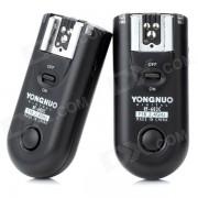 Disparador de destello remoto inalambrico Yongnuo 3-en-1 FSK 2.4GHz para Canon 20D / 30D / 40D