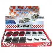 12 pcs in Box: 5 Mercedes Benz SLS AMG 1:36 Scale (Grey/Red/Silver/White)