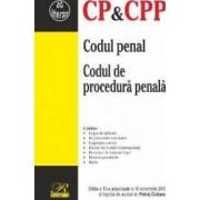 Codul penal. Codul de procedura penala Ed.13 Act. 10 Octombrie 2017