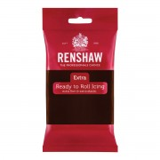 Renshaw Rolfondant Extra 250g -Chocolate Flavoured-