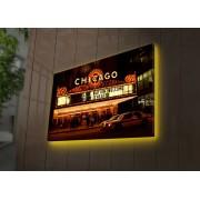 Tablou pe panza iluminat Ledda, 254LED3286, 45 x 70 cm, panza