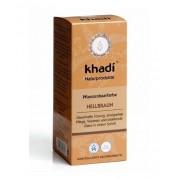 Khadi Növényi Hajfestékpor világosbarna 100 g
