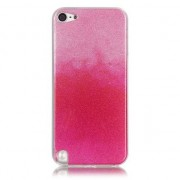 GadgetBay Etui ombré de paillettes roses Etui en TPU pour iPod Touch 5 6