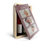 YourSurprise Wijnpakket in kist - Salentein - Pinot Noir en Chardonnay
