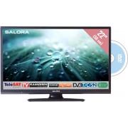 "Salora 22"" LED 9109 DVB C/T/S2 DVD FHD 12V M7 Fsc Joyne Ready"