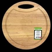 Platou rotund servire din lemn RAKI 30cm