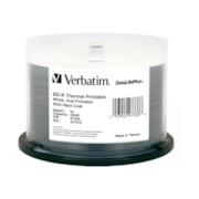 Verbatim DataLifePlus 97338 Blu-ray Recordable Media - BD-R - 6x - 25 GB - 50 Pack Spindle