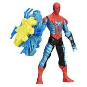 Spider-Man Marvel Amazing Spider-Man 2 Spider Strike Web Shield Spider-Man Figure 3.75