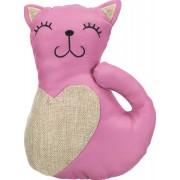 Látková XXL kočička s catnipem 22 cm