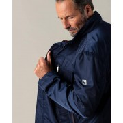 "Gentlemen Selection Freizeitjacke ""City"" navyblau male 58"