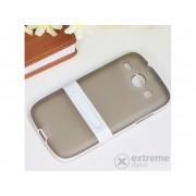 Husă din plastic Gigapack pentru Samsung Galaxy Core (GT-I8260), gri-alb (conform producătorului)