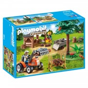 PLAYMOBIL Country houthakker met tractor 6814