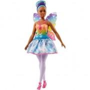 Papusa Mattel Barbie Dreamtopia Zana in rochie albastra