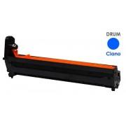 Italy's Cartridge TAMBURO C8600 CIANO COMPATIBILE PER OKI C8600 C8800 43449015 20.000 PAGINE