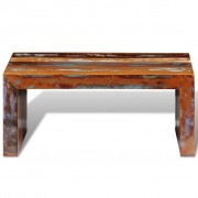 vidaXL Salontafel gerecycled hout