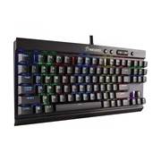 Corsair RAPIDFIRE K65 Mechanical Keyboard - Cable Connectivity - Black