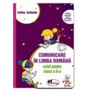 Comunicare in limba romana Caiet pentru clasa a II-a mov dupa manualul ART