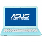 "Laptop Asus VivoBook X541UV-GO1201,15.6"" HD LED-Backlit Glare, Intel Core i3-6006U, nVidia 920MX 2GB DDR3, RAM 4GB DDR4, HDD 500GB, EndlessOS, Aqua Blue"