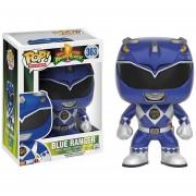 Funko Pop Blue Ranger Power Rangers Morphing Vinyl Azul