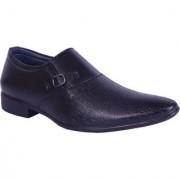 Shoebook Men's Black Stylish Party Wear Shoes